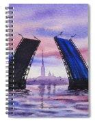 Colors Of Russia Bridges Of Saint Petersburg Spiral Notebook