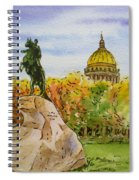 Colors Of Russia Monuments Of Saint Petersburg Spiral Notebook