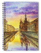 Colors Of Russia St Petersburg Cathedral I Spiral Notebook