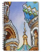 Colors Of Russia St Petersburg Cathedral II Spiral Notebook