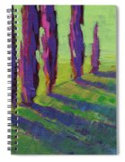 Colors Of Summer 1 Spiral Notebook