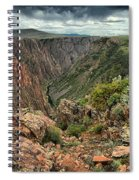 Colors Of The Black Canyon Spiral Notebook
