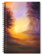 Colors Of The Morning Light Spiral Notebook