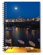 Cala Corb In Es Castell - Minorca - Colors Of The Moonlight   Spiral Notebook