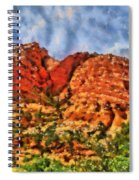 Colors Of Zion Spiral Notebook