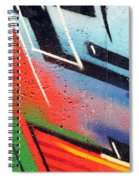 Colors On The Wall Spiral Notebook