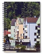 Colorul Houses In Germany Spiral Notebook