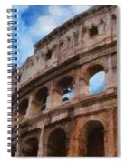 Colosseo Spiral Notebook