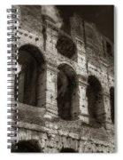 Colosseum Wall Spiral Notebook