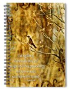 Colossians 1 26 Spiral Notebook