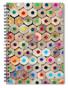 Colour 4 Spiral Notebook