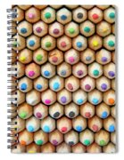 Colour 6 Spiral Notebook