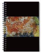 Color Exploded Spiral Notebook