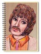 Coloured Pencil Portrait Spiral Notebook
