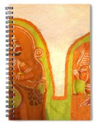 Coloured Reliefs Spiral Notebook