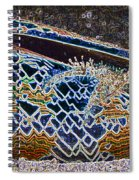 Colourful Crab Spiral Notebook