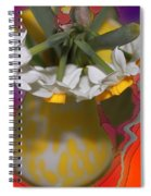 Colourful Flowers Spiral Notebook