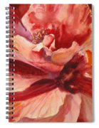 Colourful Hibiscus Spiral Notebook