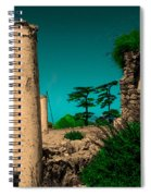 Colourful Ruins Spiral Notebook