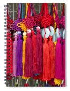 Colourful Souvenirs In China Spiral Notebook