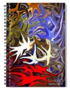 Colours Melting 3 Spiral Notebook