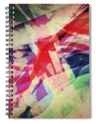 Colours Of A Kingdom Spiral Notebook