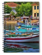 Colours Of Greece Spiral Notebook