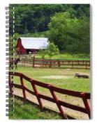 Colts On A Farm Spiral Notebook