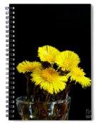 Coltsfoot Bouquet Spiral Notebook