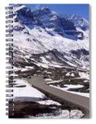 Columbia Icefields, Alberta - Panorama Spiral Notebook