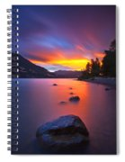 Columbia Morning Fire Spiral Notebook