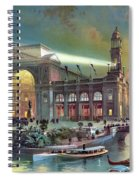 Columbian Expo, Electricity Building Spiral Notebook