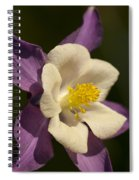 Columbine Floral Spiral Notebook