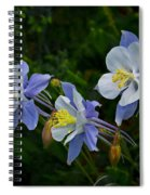 Columbines Spiral Notebook