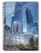 New York - Columbus Circle - Time Warner Center Spiral Notebook