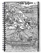 Columbus Hispaniola, 1492 Spiral Notebook