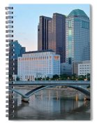 Columbus Panorama Spiral Notebook