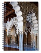 Columns And Arches No2 Spiral Notebook