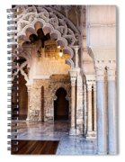 Columns And Arches No3 Spiral Notebook