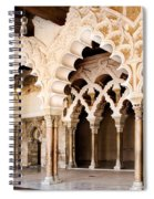 Columns And Arches No1 Spiral Notebook
