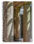 Columns At Cranes Spiral Notebook