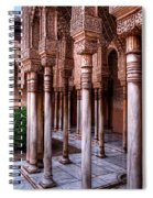 Columns Of The Court Of The Lions Spiral Notebook