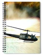 Combat Helicopter Spiral Notebook