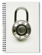 Combination Lock Spiral Notebook