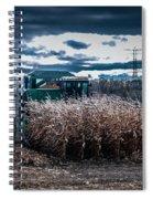 Combining Corn Spiral Notebook