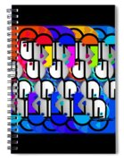 Come Day Go Day Spiral Notebook