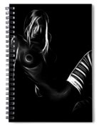 Come Into My Darkness Spiral Notebook