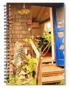 Come On In To A Mendocino Art Studio Spiral Notebook