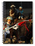 Horse Racing Come On Number 6 Spiral Notebook