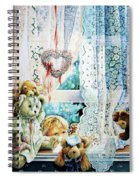 Come Out And Play Teddy Spiral Notebook